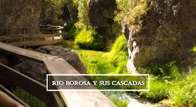 El río Borosa y sus cascadas en la sierra de Cazorla.