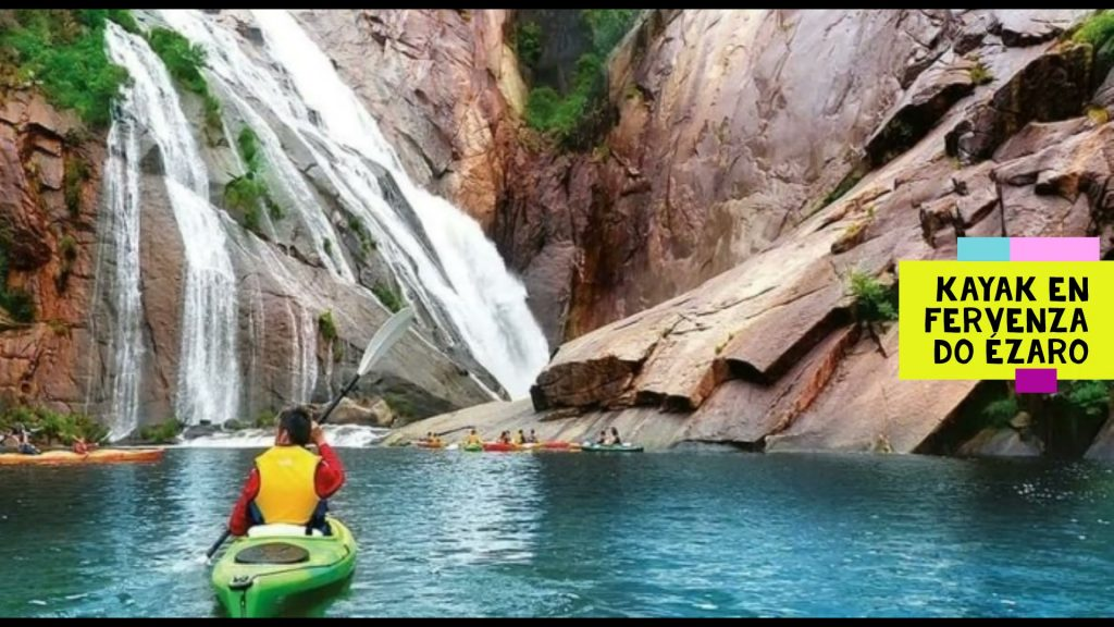 Kayak en la Fervenza do Ézaro