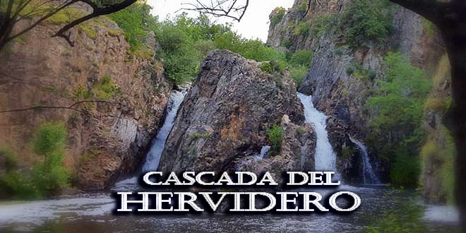 Cascada del Hervidero y la cascada Becerra en San Agustín de Guadalix