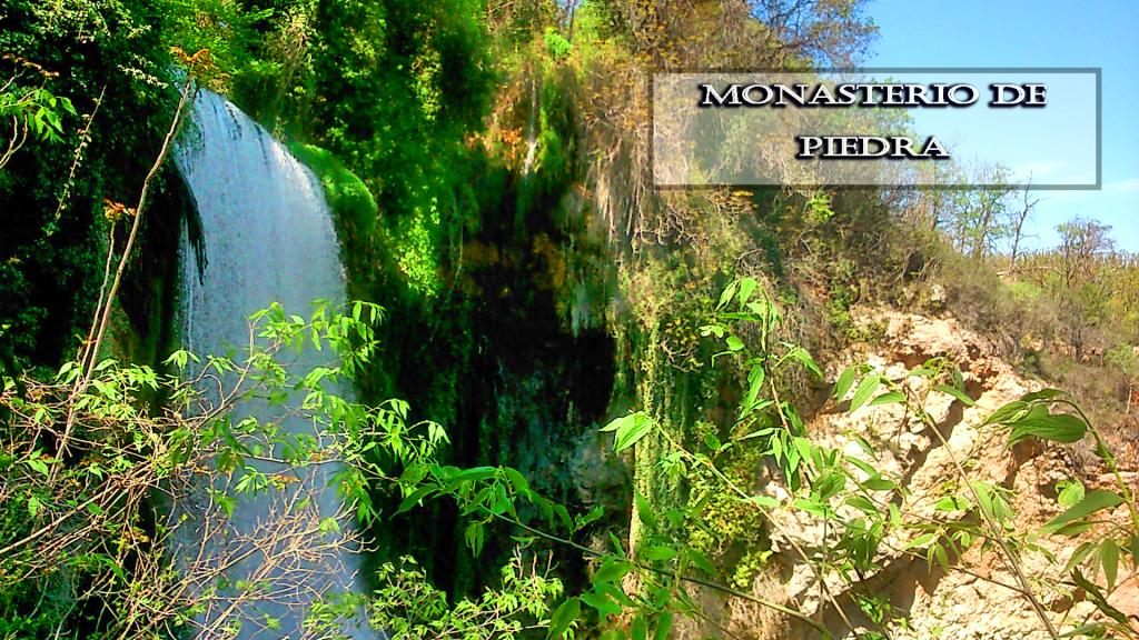 salto de agua del monasterio de piedra