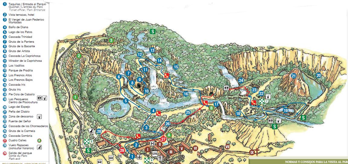 plano parque jardin historico